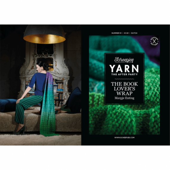 YARN The After Party No.51 Book Lover's Wrap NL