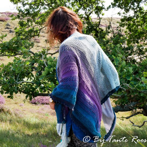 Pattern Pride Rose Shawl (ENGLISH, US)