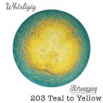 Whirligig - 203 Teal to Yellow