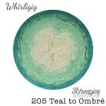 Whirligig - 205 Teal to Ombre