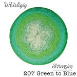 Whirligig - 207 Green to Blue