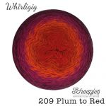 Whirligig - 209 Plum to Red