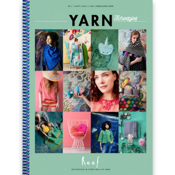 Scheepjes Yarn Bookazine nr.7 Reef