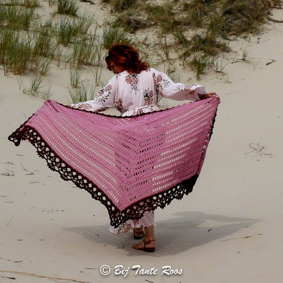 Compleet Product Alegria Rose Shawl